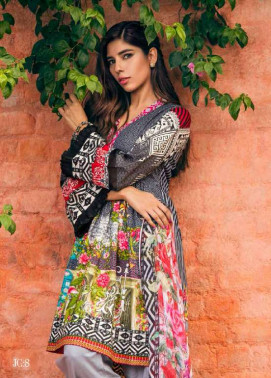 Jahanara Embroidered Cotton Unstitched 3 Piece Suit JN17C 08