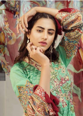 Jahanara Embroidered Lawn Unstitched 3 Piece Suit JN18F 07 - Festive Collection