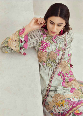 Jahanara Embroidered Lawn Unstitched 3 Piece Suit JN18F 09 - Festive Collection