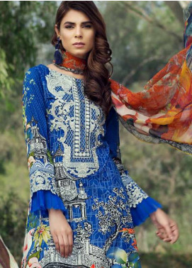 Jahanara Embroidered Lawn Unstitched 3 Piece Suit JN18L 01 - Spring / Summer Collection
