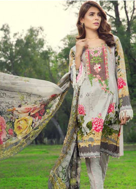 Jahanara Embroidered Lawn Unstitched 3 Piece Suit JN18L 08 - Spring / Summer Collection