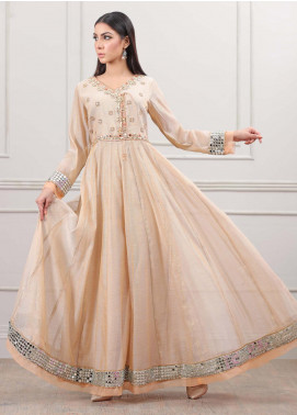 Kaara Formal Khaadi Net Stitched Frock KR572