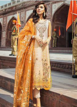 Kaasni by Panache Embroidered Lawn Unstitched 3 Piece Suit PN20K1 - Spring / Summer Collection
