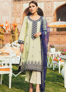 Kaasni by Panache Embroidered Lawn Unstitched 3 Piece Suit PN20K11 - Spring / Summer Collection