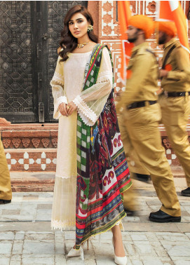 Kaasni by Panache Embroidered Lawn Unstitched 3 Piece Suit PN20K2 - Spring / Summer Collection