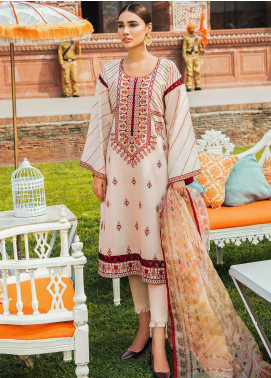 Kaasni by Panache Embroidered Lawn Unstitched 3 Piece Suit PN20K3 - Spring / Summer Collection