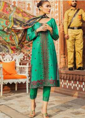 Kaasni by Panache Embroidered Lawn Unstitched 3 Piece Suit PN20K5 - Spring / Summer Collection