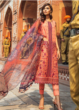 Kaasni by Panache Embroidered Lawn Unstitched 3 Piece Suit PN20K6 - Spring / Summer Collection