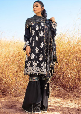 Kalyan By ZS Embroidered Chikankari Unstitched 3 Piece Suit ZS21KC D-02 - Festive Collection