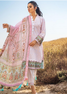 Kalyan By ZS Embroidered Chikankari Unstitched 3 Piece Suit ZS21KC D-09 - Festive Collection