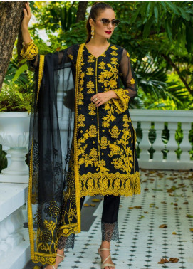Kalyan By ZS Embroidered Organza Unstitched 3 Piece Suit KLY20C 7 - Spring / Summer Collection
