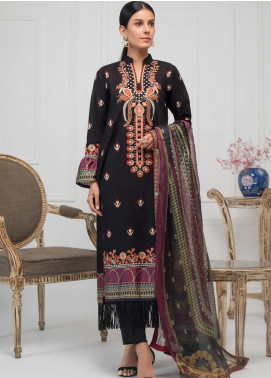 Kalyan by ZS Textile Embroidered Lawn Unstitched 3 Piece Suit KLY20-D4 04 - Summer Collection