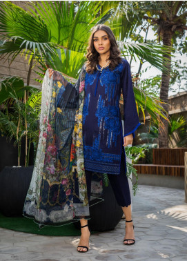 Kalyan By ZS Embroidered Jacquard Unstitched 3 Piece Suit KLY20D 01 - Summer Collection