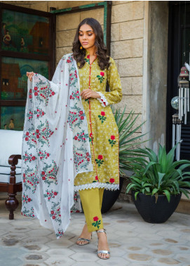 Kalyan By ZS Embroidered Jacquard Unstitched 3 Piece Suit KLY20D 03 - Summer Collection