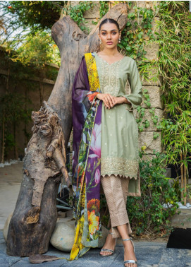 Kalyan By ZS Embroidered Jacquard Unstitched 3 Piece Suit KLY20D 05 - Summer Collection