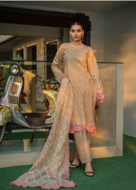 Kalyan By ZS Embroidered Jacquard Unstitched 3 Piece Suit KLY20D 08 - Summer Collection