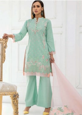 Kalyan By ZS Embroidered Lawn Unstitched 3 Piece Suit KED19EC 02 - Exclusive Collection