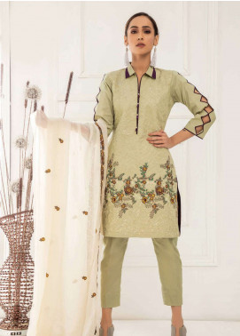 Kalyan By ZS Embroidered Lawn Unstitched 3 Piece Suit KED19EC 07 - Exclusive Collection