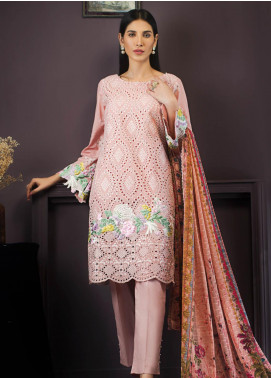 Kalyan By ZS Embroidered Chikankari Unstitched 3 Piece Suit KLY19-F2 02 - Festive Collection