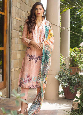 Kalyan By ZS Embroidered Lawn Unstitched 3 Piece Suit KLY19-F3 07 - Festive Collection