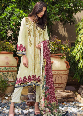 Kalyan By ZS Embroidered Broschia Unstitched 3 Piece Suit KLY19-F4 05 - Festive Collection