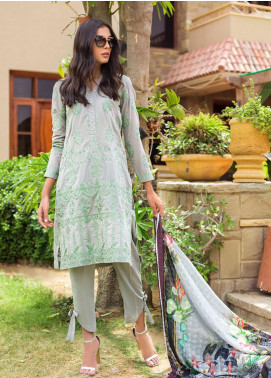Kalyan By ZS Embroidered Lawn Unstitched 3 Piece Suit KLY19-F4 06 - Festive Collection