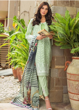 Kalyan By ZS Embroidered Schiffli Unstitched 3 Piece Suit KLY19-F4 07 - Festive Collection