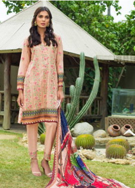 Kalyan By ZS Embroidered Lawn Unstitched 3 Piece Suit KLY19-F4 09 - Festive Collection
