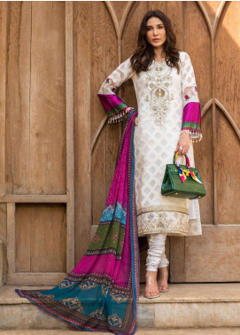 Kalyan By ZS Embroidered Broschia Unstitched 3 Piece Suit KLY19F 06 - Festive Collection