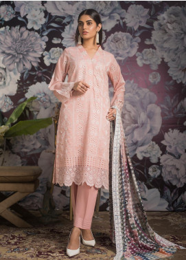 Kalyan By ZS Embroidered Jacquard Unstitched 3 Piece Suit KLY19MS 04 - Mid Summer Collection