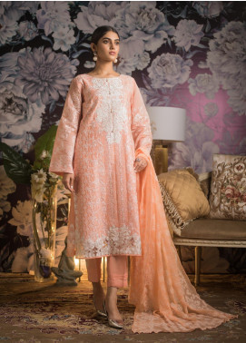 Kalyan By ZS Embroidered Jacquard Unstitched 3 Piece Suit KLY19MS 05 - Mid Summer Collection