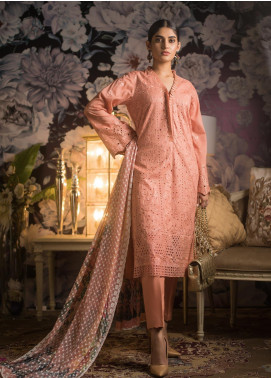 Kalyan By ZS Embroidered Jacquard Unstitched 3 Piece Suit KLY19MS 06 - Mid Summer Collection