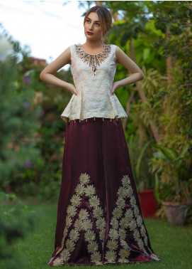 Kashbia Embroidered Organza Stitched 2 Piece 8001-KB-001