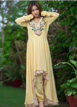 Kashbia Embroidered Chiffon Stitched 2 Piece 8001-KB-005
