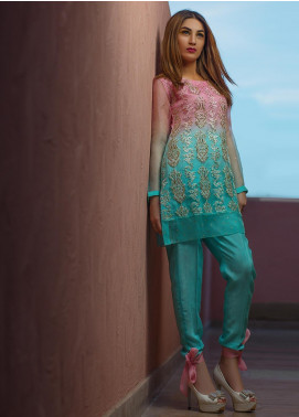 Kashbia Embroidered Net Stitched 2 Piece 8001-KB-006