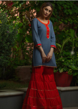 Kashbia Embroidered Cotton Stitched 2 Piece 8001-KB-021