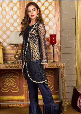 Kashbia Embroidered Net Stitched 2 PIece 8001-KB-034