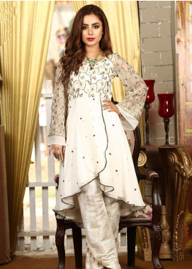 Kashbia Embroidered Chiffon Stitched 2 PIece 8001-KB-035