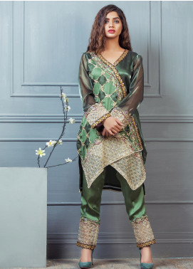 Kashbia Embroidered Chiffon Stitched 2 Piece 8001-KB-045