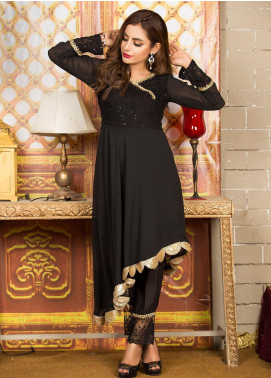 Kashbia Embroidered Chiffon Stitched 2 Piece 8001-KB-047