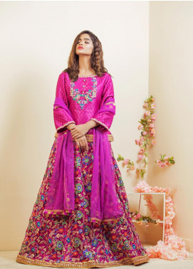 Kashbia Embroidered Jamawar Stitched 3 Piece 8001-KB-050