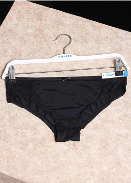 Kayser Brief with Mesh Black for Women