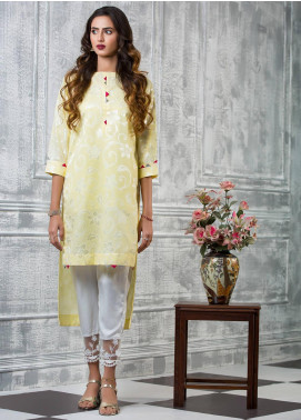 Keshia Embroidered Cotton Stitched Kurtis Tabassum