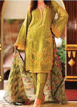 Khaka by Puri Fabrics Embroidered Viscose Unstitched 3 Piece Suit KH20C 02 - Winter Collection