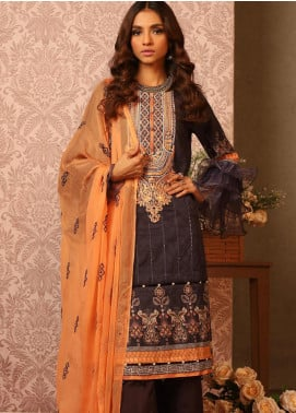 Khas Embroidered Lawn Unstitched 3 Piece Suit KHS20SV KC-5074 Bohemian - Spring / Summer Collection