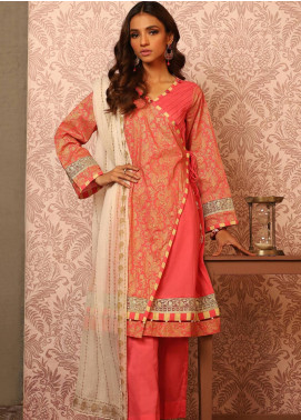 Khas Embroidered Lawn Unstitched 3 Piece Suit KHS20SV KC-5079 Pattern Curator - Spring / Summer Collection