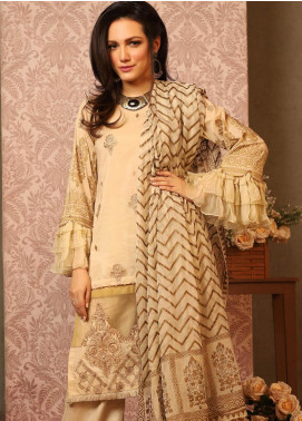 Khas Embroidered Lawn Unstitched 3 Piece Suit KHS20SV KC-5080 Furious Waves - Spring / Summer Collection