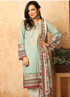 Khas Embroidered Lawn Unstitched 3 Piece Suit KHS20SV KC-5084 Mure Visum - Spring / Summer Collection