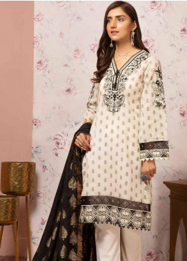 Khas Embroidered Lawn Unstitched 3 Piece Suit KHS20SV KJE-19003 Endless - Spring / Summer Collection