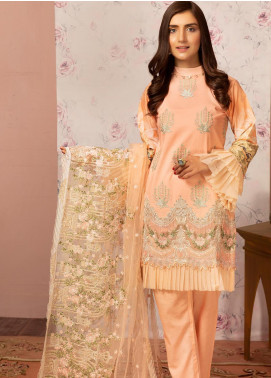 Khas Embroidered Lawn Unstitched 3 Piece Suit KHS20SV KNE-7010 - Spring / Summer Collection